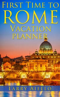 First Time to Rome Vacation Planner on Amazon