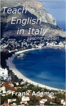 Frank Adamo's Book Called Teach English in Italy